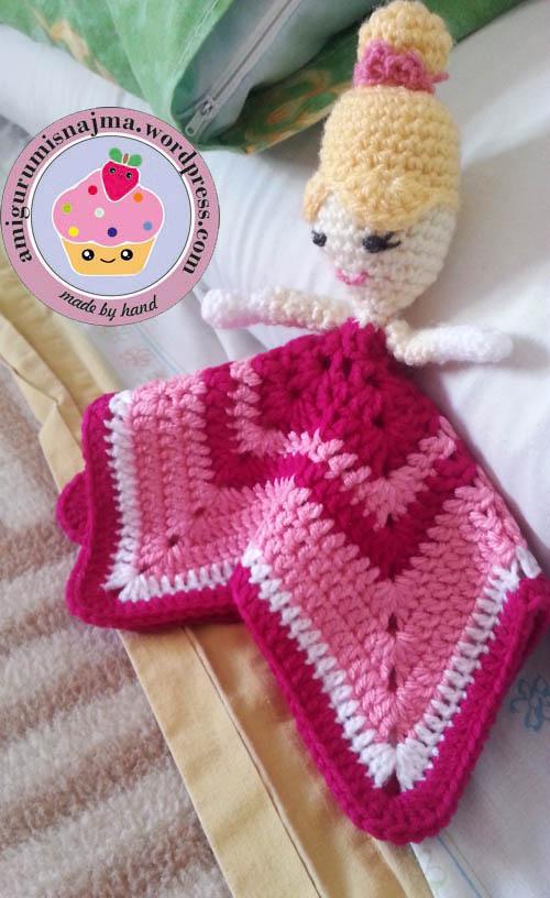 mantita princesa bebe crochet