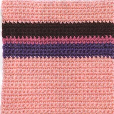 26 junio rosa crochet granny