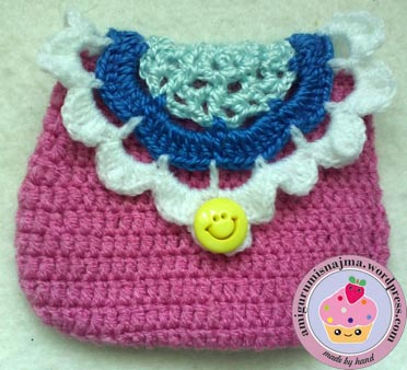 purse crochet bolsito ganchillo