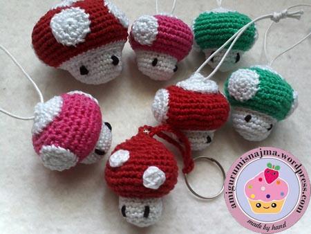 keyring crochet llaveros ganchillo