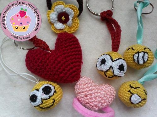 keyring crochet
