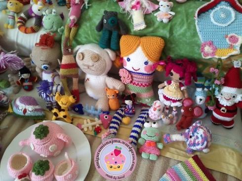muñecos ganchillo amigurumisnajma