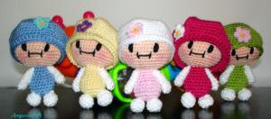 muñeca crochet amigurumi