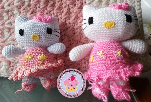 hello kitty dancer crochet