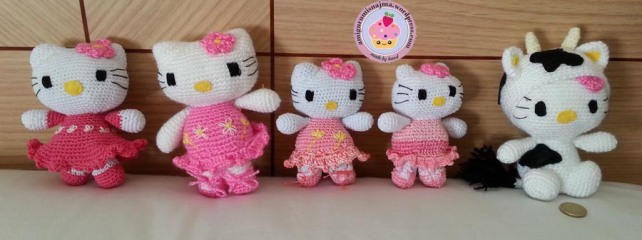hello kitty cat crochet