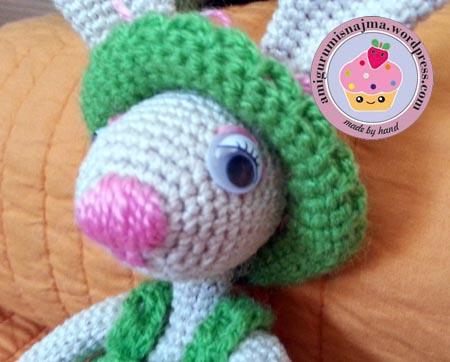 How to Crochet ears for an amigurumi toy bear or bunny