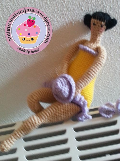 najma tilda doll crochet toy amigurumi