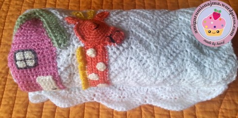 baby blanket noah arch crochet