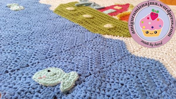 baby blanket crochet manta ganchillo bebe