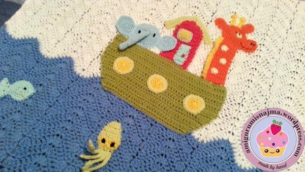 arca noe blanket crochet