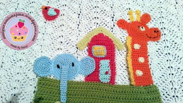 noah arch blanket crochet
