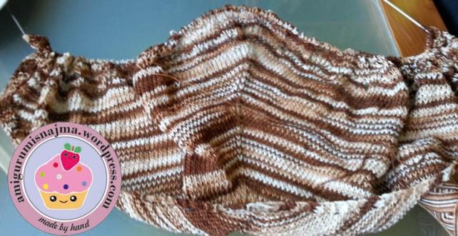 ishbel shawl knitting chal tejido