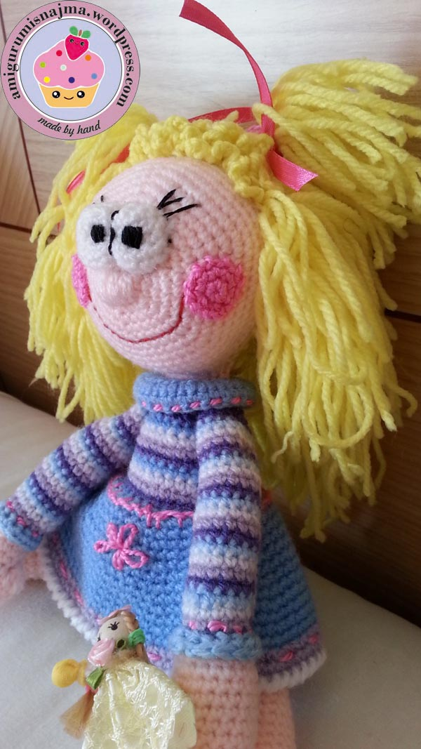 amigurumis najma toy doll crochet