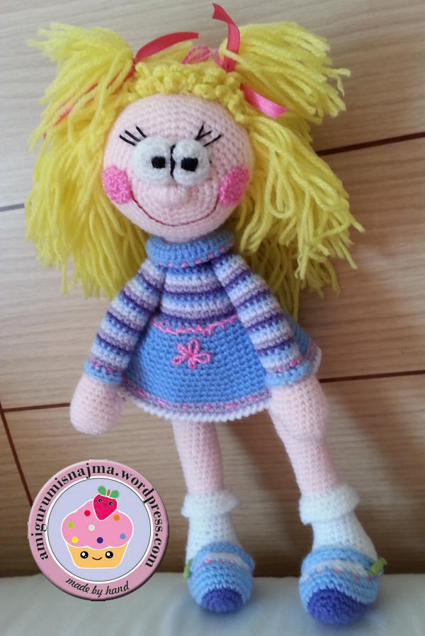 najma amigurumi crochet yarn ganchillo toy doll
