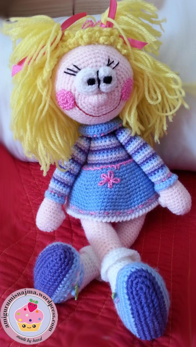 toy crochet doll