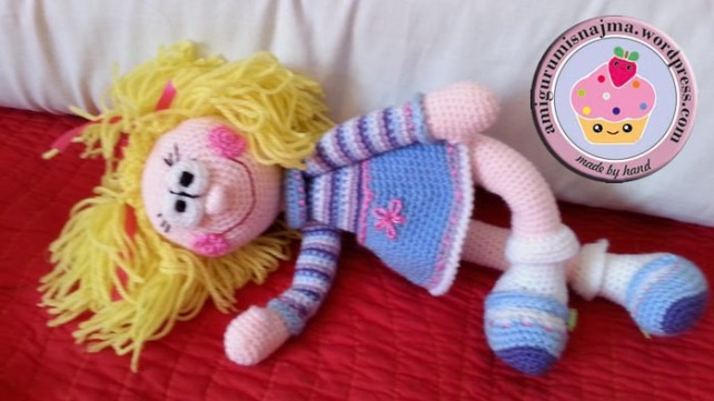 toy doll crochet amigurumi ganchillo