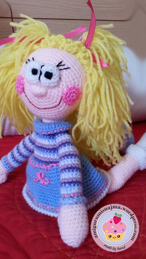 amigurumi doll crochet ganchillo muñeca toy