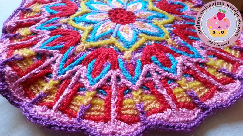 Overlay crochet- crochet mandala   Labores de Najma
