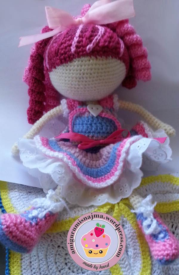 Angel Amigurumi Paso A Paso : lalaloopsy doll crochet Labores de Najma