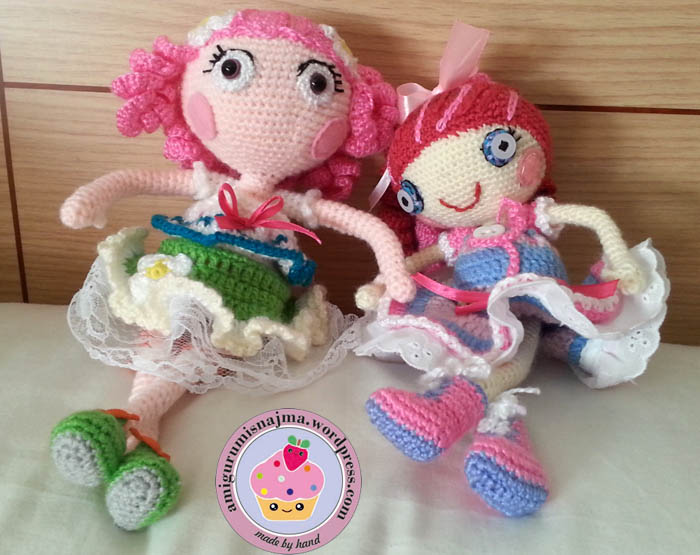Amigurumi Pokemon Paso A Paso : Lalita, amigurumi crochet doll Labores de Najma