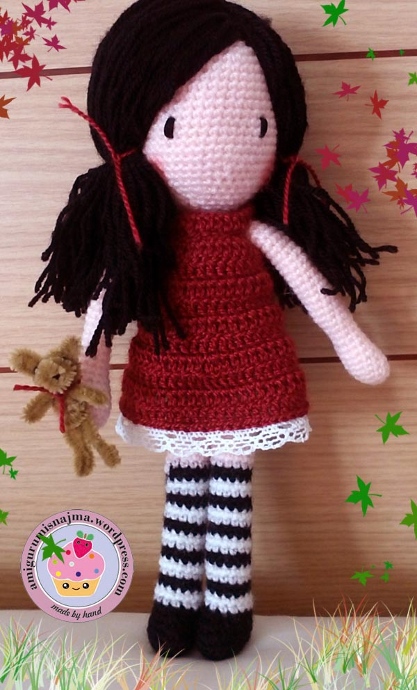 doll crochet amigurumi toy muñeca crochet gorjuss