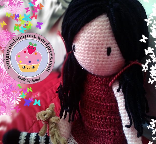 baby doll crochet muñeca ganchillo amigurumi