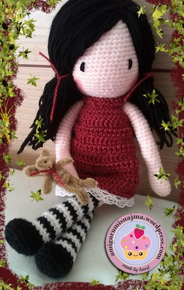 amigurumi doll crochet muñeca ganchillo gift