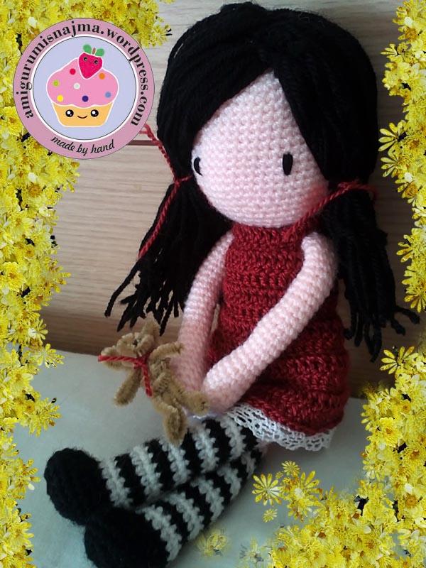 toy doll crochet amigurumi gift najma