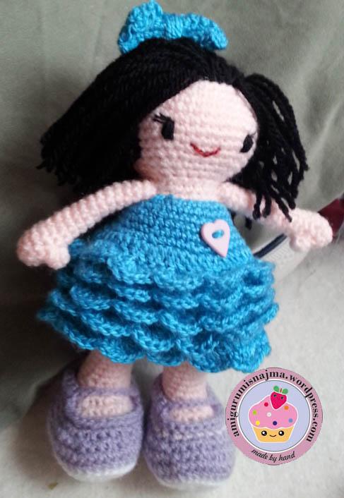muñeca ganchillo doll crochet