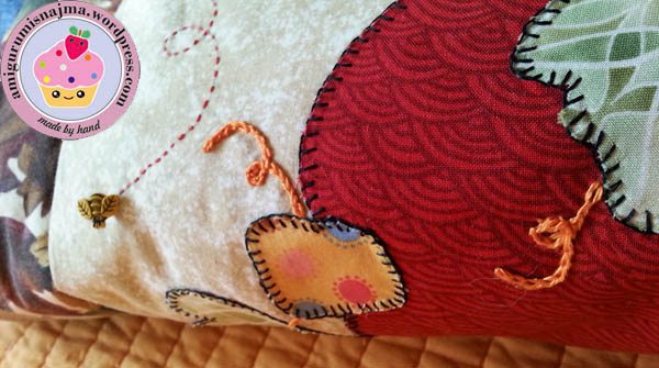 autumn quilt patchwork fabric