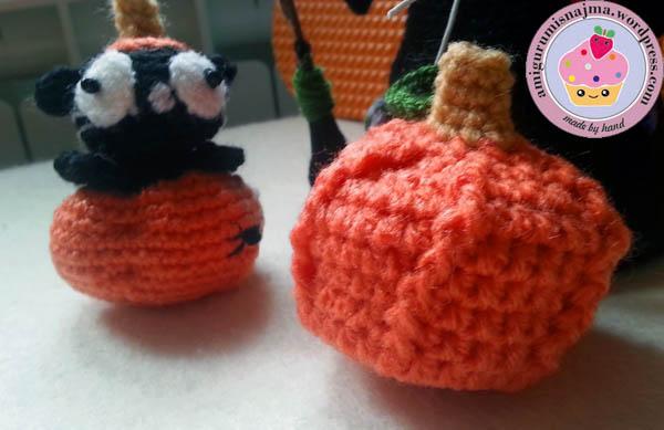 pumpkin cat halloween amigurumi crochet