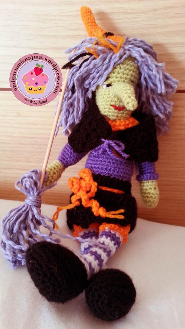 bruja ganchillo muñeca doll crochet amigurumi witch