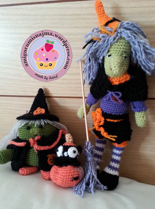 witch amigurumi crochet