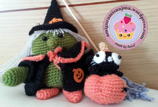 medeia witch crochet amigurumi
