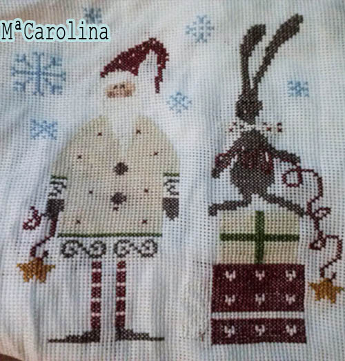 carolina madame chantilly santa and his helper