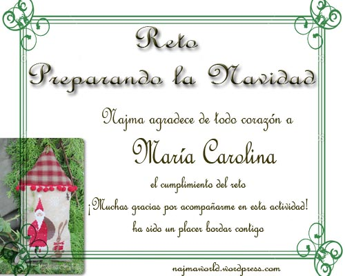 certificado reto bordado carolina