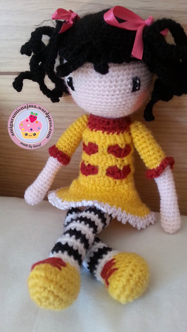 doll crochet amigurumi toy ganchillo-11