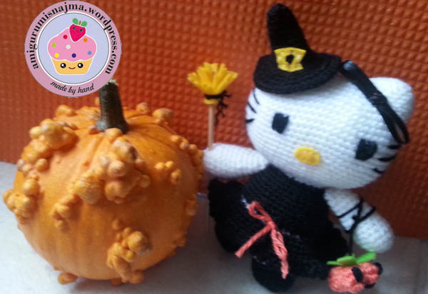 hello kitty witch amigurumi toy ganchillo-04