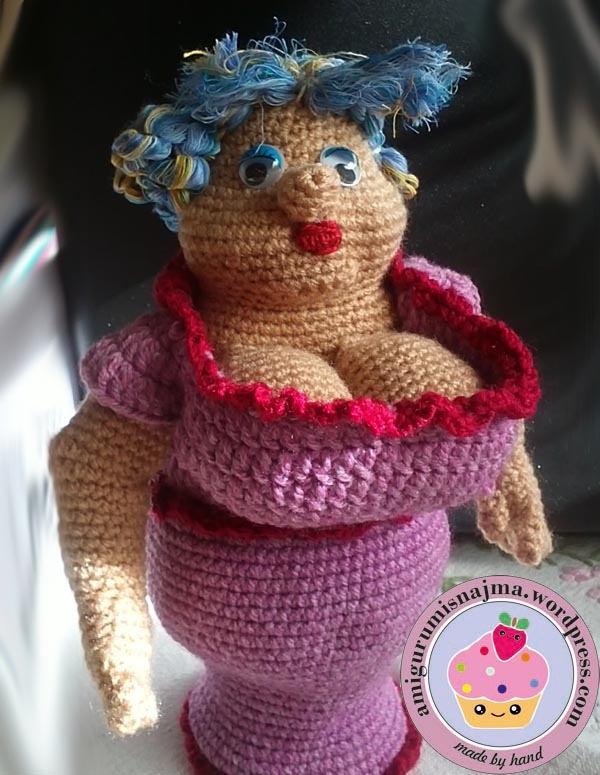 Amigurumi Manos : Claudette crochet doll Lil Sweet Dolls