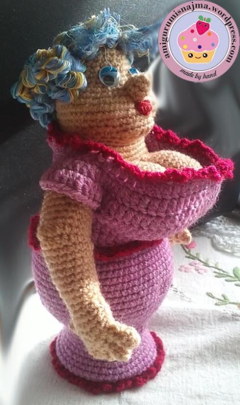 claudette doll amigurumi crochet muñeca ganchillo