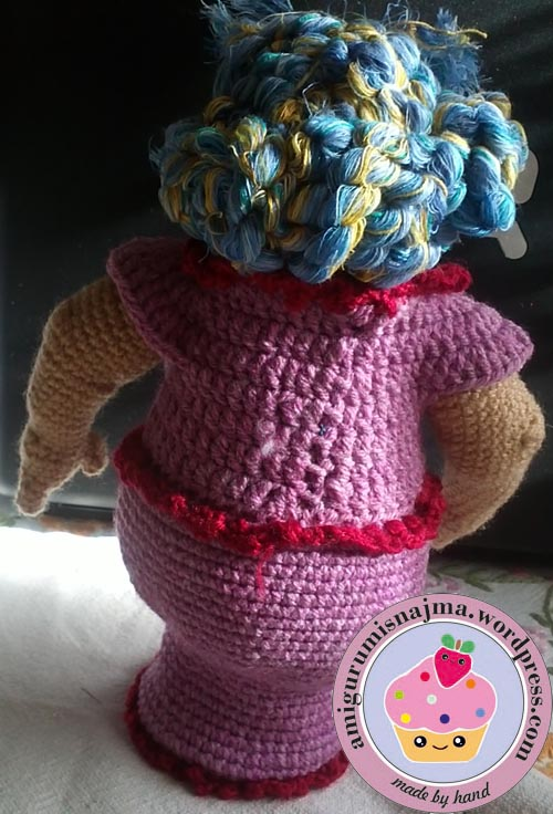 claudette doll amigurumi crochet muñeca ganchillo toy