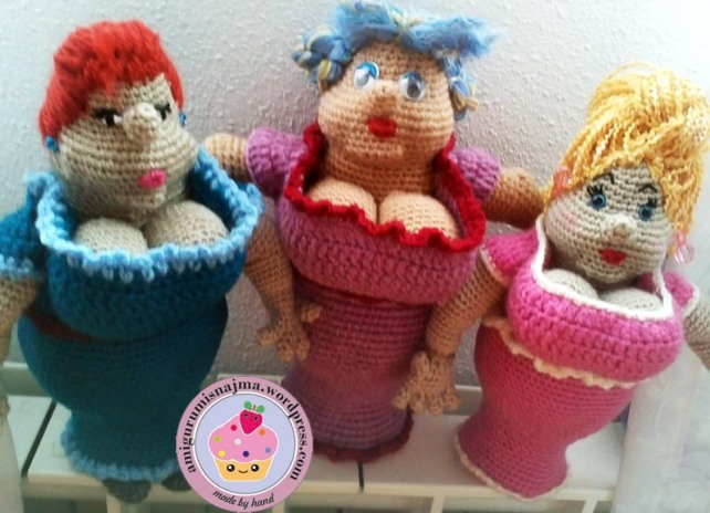 fat lady crochet madame briosh ganchillo