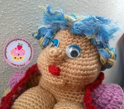 Claudette crochet doll amigurumi ganchillo toy