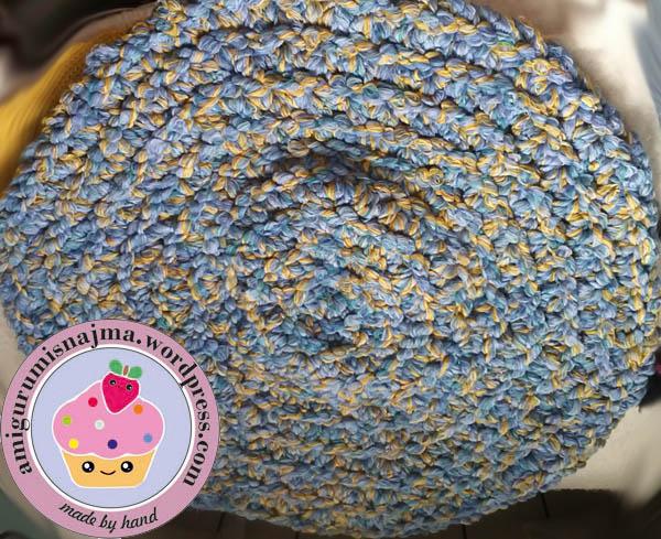 alfombra crochet baño trapillo trapilho rug crochet