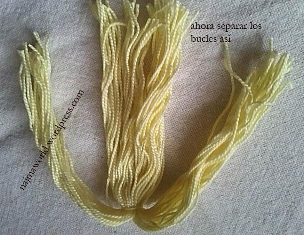 hair crochet amigurumi doll xmas