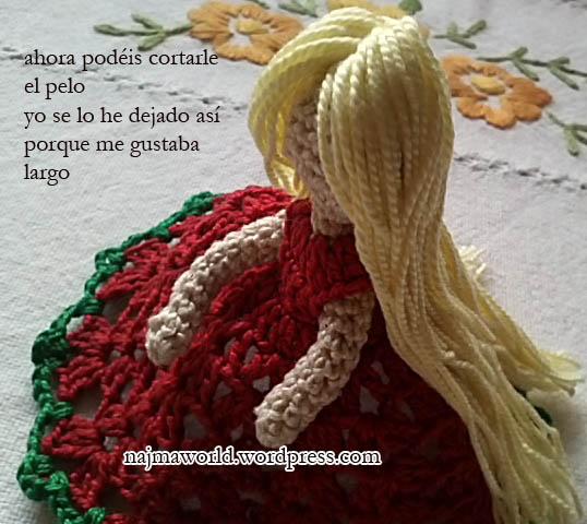 doll crochet christmas