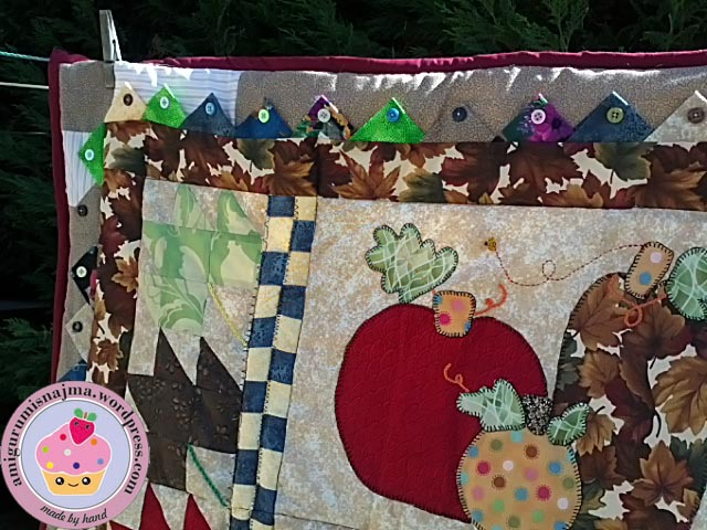 autumn quilt fall patchwork otoño