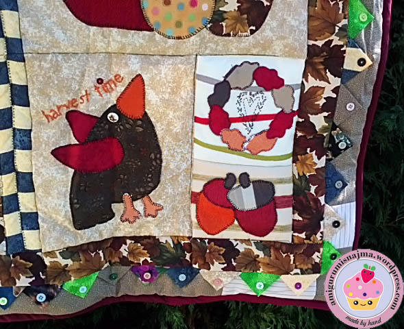 autumn quilt patchwork