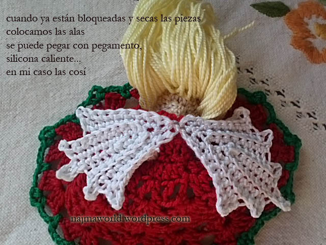 christmas ornament crochet najma