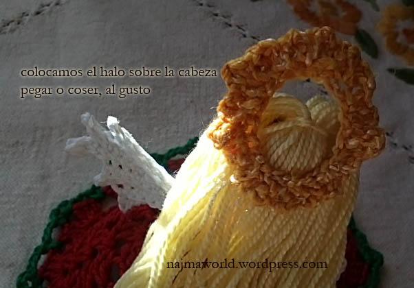 christmas ornament crochet ganchillo doll